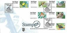 GB 2010 BIRDS POST & GO STAMPEX OFFICIAL FDC - VERY FEW KNOWN