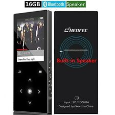 MP3 Player Bluetooth FM Radio Voice Recorder Functions Music Player Touch 16GB