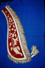 1925 International Order Odd Fellows Fraternal Ceremonial Collar, ID'd