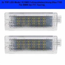 2x LED Modul 18 SMD Fußraumbeleuchtung Blau BMW 5er F11 Touring (7105)