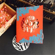 Stanzschablone Baum Zweig Titelseite Außenseite Weihnachten Hochzeit Karte Album