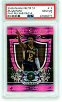 JA MORANT 2019-20 Prizm Draft Crusade Pink Pulsar Rookie Card RC PSA 10 Gem Mint