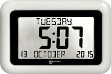 Geemarc Telecom Viso 10 - Extra Large Easy Read Clock. Helpful for Dementia and
