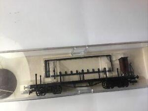 Wagon HO Plat Long à Ranchers Fleischmann Ref 5285 Type TP