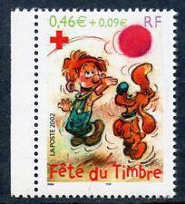 STAMP / TIMBRE FRANCE NEUF N° 3468 ** FETE DU TIMBRE BOULE ET BILL / DE CARNET