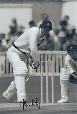 David Lloyd Firmato a Mano 12x8 foto Inghilterra Cricket.
