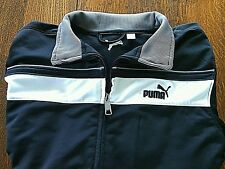 Puma Women's Jacket Athletic Track Top Zip Up Front Sports Running Gym Size XS