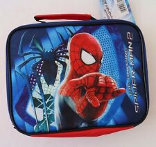 Marvel Amazing Spider-Man Boys Insulated Lunchbag Lunchbox NWT FREE SHIPPING
