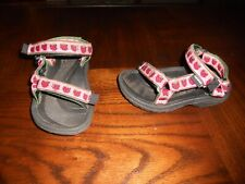 Teva girls shoes sandals size 6 strawberries toddler
