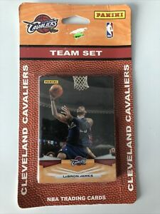 2009 Panini Cavaliers Team Set Unopened! LeBron James and Shaquille O'Neal!