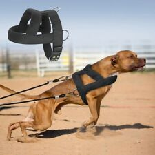 Dog Weight Pulling Harness Soft Padded Pitbull K9 Large Training Harness