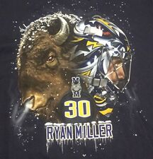 Buffalo Sabres Ryan Miller T-Shirt Size Medium NHL Fan Apparel Short Sleeve c4