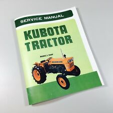 Heavy equipment manuals books for kubota ebay kubota tractor model l 260p service repair shop manual l260p l260 260 fandeluxe Gallery