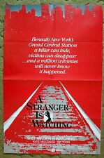 """""""A STRANGER IS WATCHING"""" Girl Kidnapped by her Mother's Killer -Movie poster"""