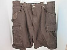 WRANGLER~Brown RIGGS WORKWEAR CARGO SHORTS~Men's 42