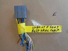 1995 ford escort lt seat belt computer wires to 6116-1 1