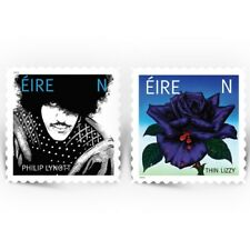 2019 IRELAND ~ NEW THIN LIZZY-PHIL LYNOTT SETENANT PAIR MNH