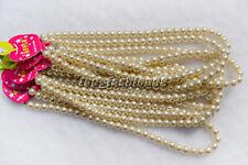FREE Wholesale lots Jewelry 20pcs pearl-like glass bead Necklace Len 42cm