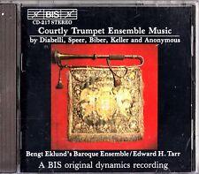 Courtly Trumpet Ensemble Music By Diabelli/Speer/Biber/Keller- CD- Tarr/Kent