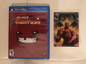 Playstation Vita PSVita LRG Super Meat Boy Sealed w/ Card Ready to Ship!