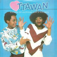 "Ottawan ‎– Hands Up (Give Me Your Heart)   7"" Vinyl  45rpm"