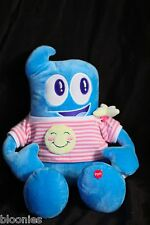 HAI BAO Expo 2010 Shanghai Talking Blue Mascot Haibao Plush Toy Doll RARE