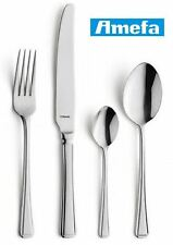 Amefa Vintage Harley Polished Stainless Steel Cutlery Set 24 Piece, 6 Person