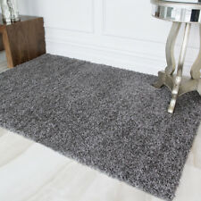 New Modern Grey Black Rugs Small Extra Large Huge Monochrome Soft Mats