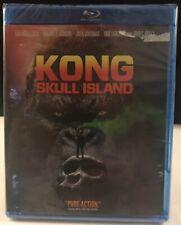 New - Kong - Skull Island (Blu-Ray, 2017) - Free Shipping -