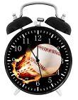 Baseball Alarm Desk Clock Nice For Decor or Gifts F152