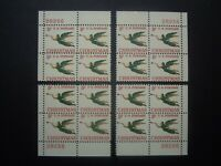 "#1276a 5c Angel with Trumpet Plate Block #28256 Matched Set MNH OG VF ""TAGGED"""