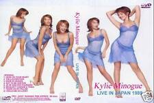 RARE in Stock Kylie Minogue DVD LIVE IN JAPAN 1989 PWL from Japan F/S