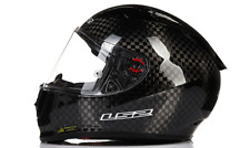 2018 LS2 FF323 GLOSS CARBON TRACK RACING RACE MOTORCYCLE SAFETY CRASH HELMET