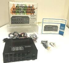 Vintage RADIO SHACK REALISTIC Autosound Stereo Equalizer/Booster   No. 12-1878A