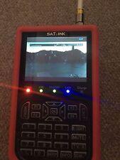 Satlink WS-6908P Rubber Professional Sat Messgerät Satfinder  DVB-S TFT 8,9cm