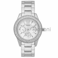 Fossil Original ES3588 Women's Stella Silver Stainless Steel Watch 38mm