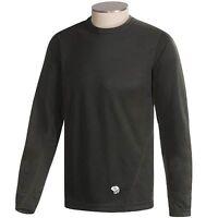 Mountain Hardwear Men's ThermaDry Crew Baselayer Long Sleeve Shirt -Size MEDIUM