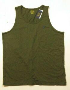 Polo Ralph Lauren Men's Green Cotton Tank Top