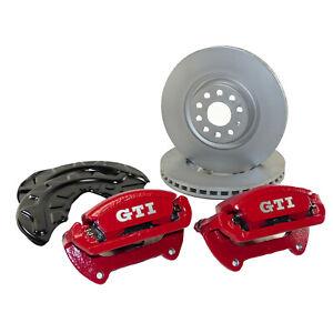 VW Golf 7 VII GTI Performance Bremsanlage vorn Bremssättel 340mm Bremsscheiben