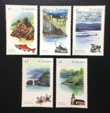 "Canada #1485-1489 MNH, Heritage Rivers ""3"" Set of Stamps 1993"