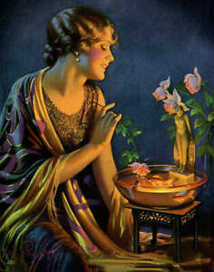 Lady with  Sweet Collections by Gene Pressler