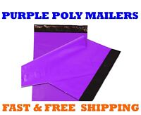 "6x9 PURPLE POLY MAILERS Shipping Envelopes Self Sealing Mailing Bags 6"" x 9"""
