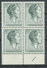 Luxemburg 692 postfris blok van vier