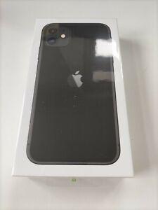Apple iPhone 11 - 64gb-schwarz (EE) nagelneu in versiegelten Kiste sofort versandfertig