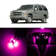 18 x Pink LED Interior Light Kit For 2000 - 2006 Chevy Chevrolet Tahoe + TOOL