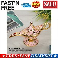 Vintage Collectable Aladdin Magic Genie Light Wishing Lamp Pot Decoration Hot