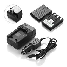 1x NB-3L NB3L Battery + Charger for Canon PowerShot SD500 SD550 SD100 SD20 SD10