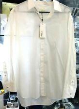 Rag & Bone White Leroy Shirt Size New With Tag - RRP $428