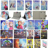 Cute Kids Durable Flip PU Leather Case Cover Stand For Universal 7/8/10'' Tablet