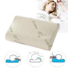 Comfort Orthopedic Bamboo Fiber Sleeping Pillow Memory Massage Foam Pillows